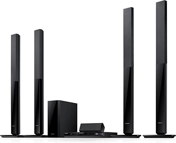 Samsung HT-F4550/ZF Home cinema Blu-ray y DVD 5.1 (3D, 500 W, HD, HDMI, Bluetooth, USB), color negro: Amazon.es: Electrónica