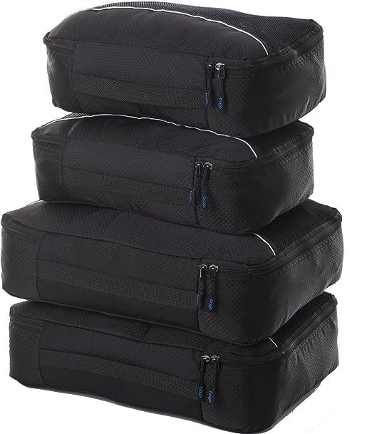 166 opinioni per 4Pz Bago Cubi Di Imballaggio- Set per Viaggi (2Black+2Black)+ 6Pz Sacchetti