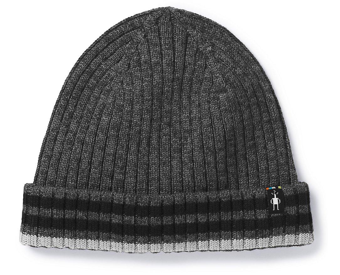 SmartWool Unisex Thunder Creek Hat Medium Gray Heather 1 One Size