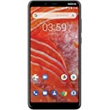 "Nokia 3.1 Plus w/Android One (32GB, 3GB) 6"" HD+, Face Unlock, Dual SIM GSM Unlocked Global 4G LTE (T-Mobile, AT&T, Metro, Str"