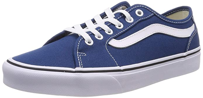 Vans Herren Filmore Decon Sneaker Canvas Blau Sailor Blue/White Vfh
