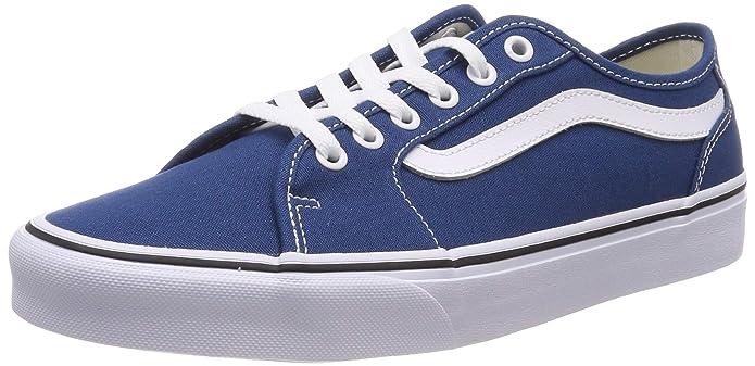 Vans Herren Filmore Decon Sneaker Canvas Blau Sailor Blue/White Vfh