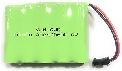 VinCorp 4,8V NI-MH Akku 2400mAh Batterie AA Mignon SM-2P Slowfly Stecker Crawler RC HBX Panzer