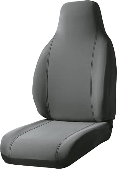 Fia SP89-22 GRAY Custom Fit Front Seat Cover Bucket Seats Poly-Cotton, Gray