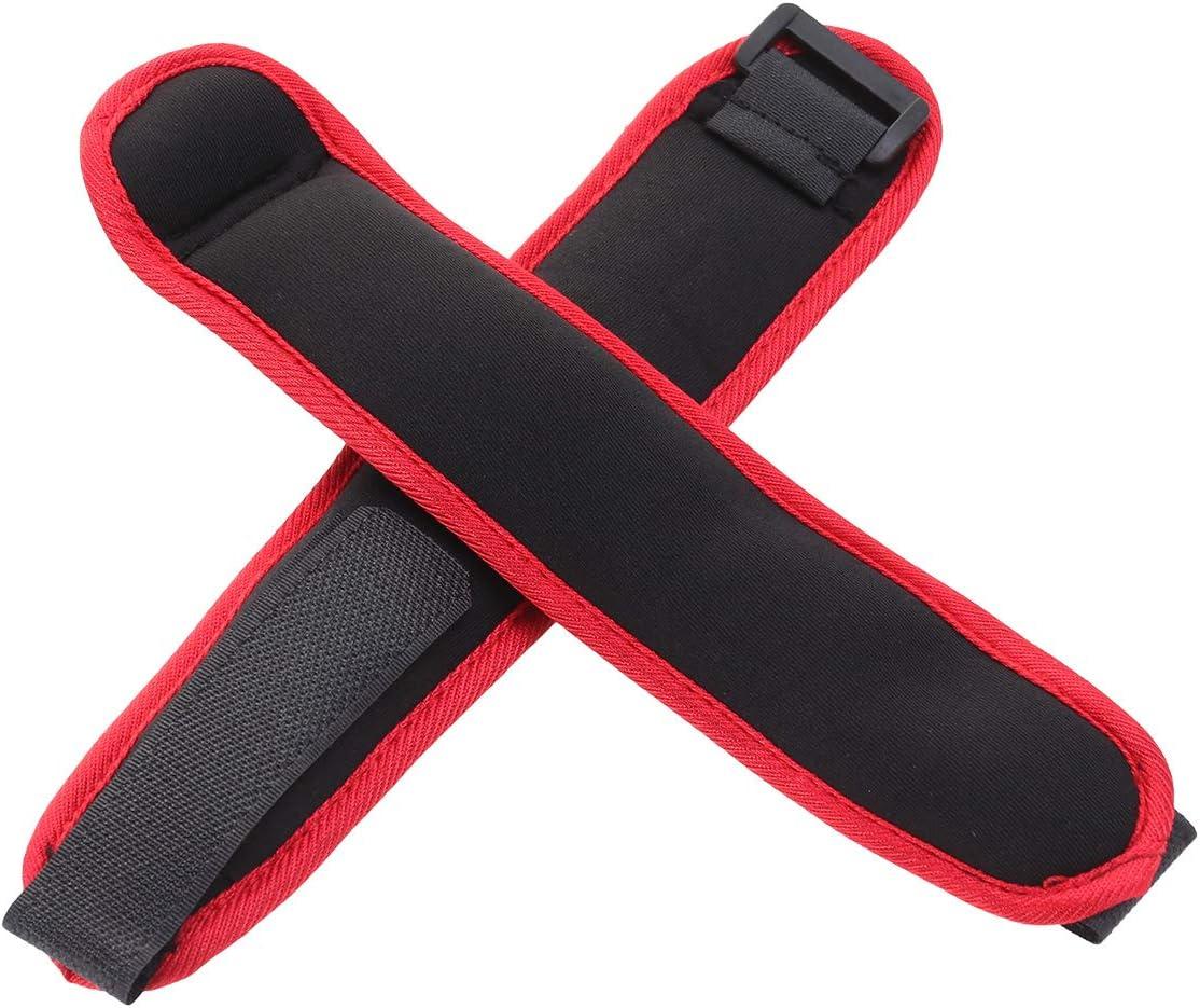 LIOOBO Ankle Weights,1 Pair 500gAnkle Wrist Weights with Adjustable Strap Arm Hand Leg Weights for Women Men Walking Jogging Gymnastics Aerobics