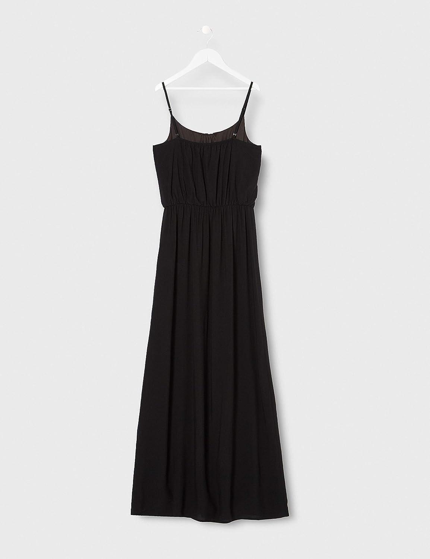 Only Onlnova Life S//L Maxi AOP Wvn Dress Vestito Donna