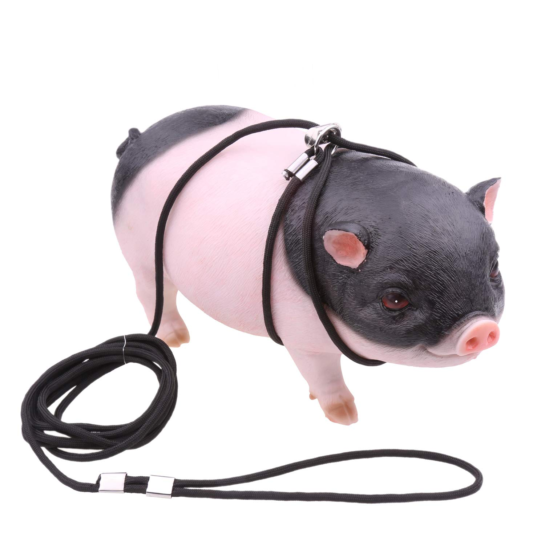 YUYUSO - Arnés Ajustable de 3 m para Cerdo, Cerdo, hurón, Conejo ...