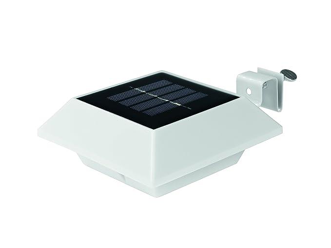 easymaxx 01203 Solar de canalón Leuchten (para cualquier casa, valla, schrebergarten, cobertizos