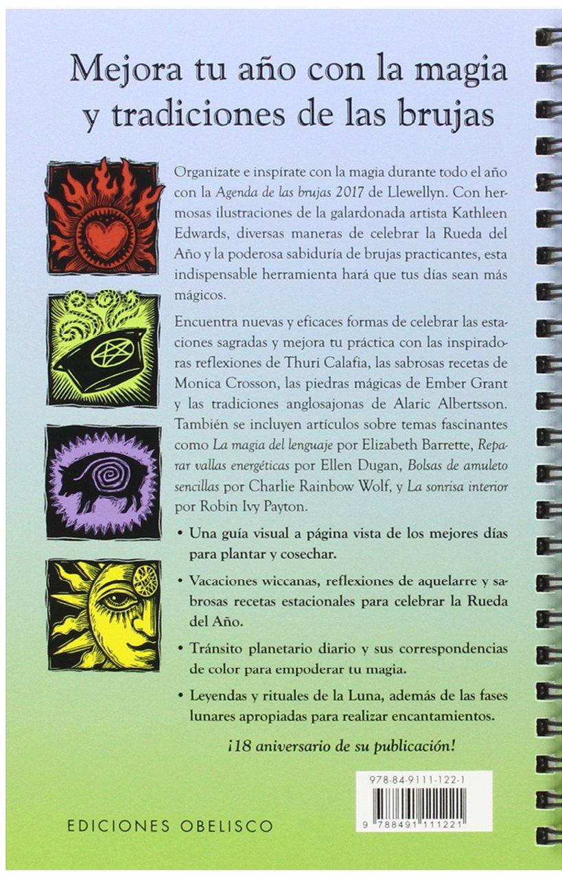 2017 Agenda Brujas (AGENDAS): Amazon.es: LLEWELLYN, KATHLEEN ...