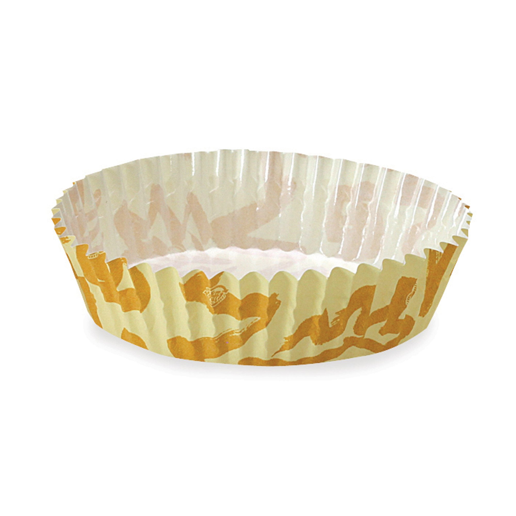 Welcome Home Brands Ruffled Baking Cups, Sunshine, 3.9''d x 1.2''h, Case/4500
