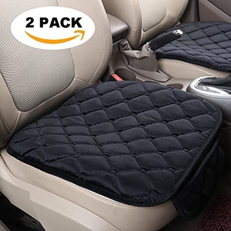 Amazon.com: SEAMETAL Auto Seat Covers Car Cushion 2PACK Front Seat ...