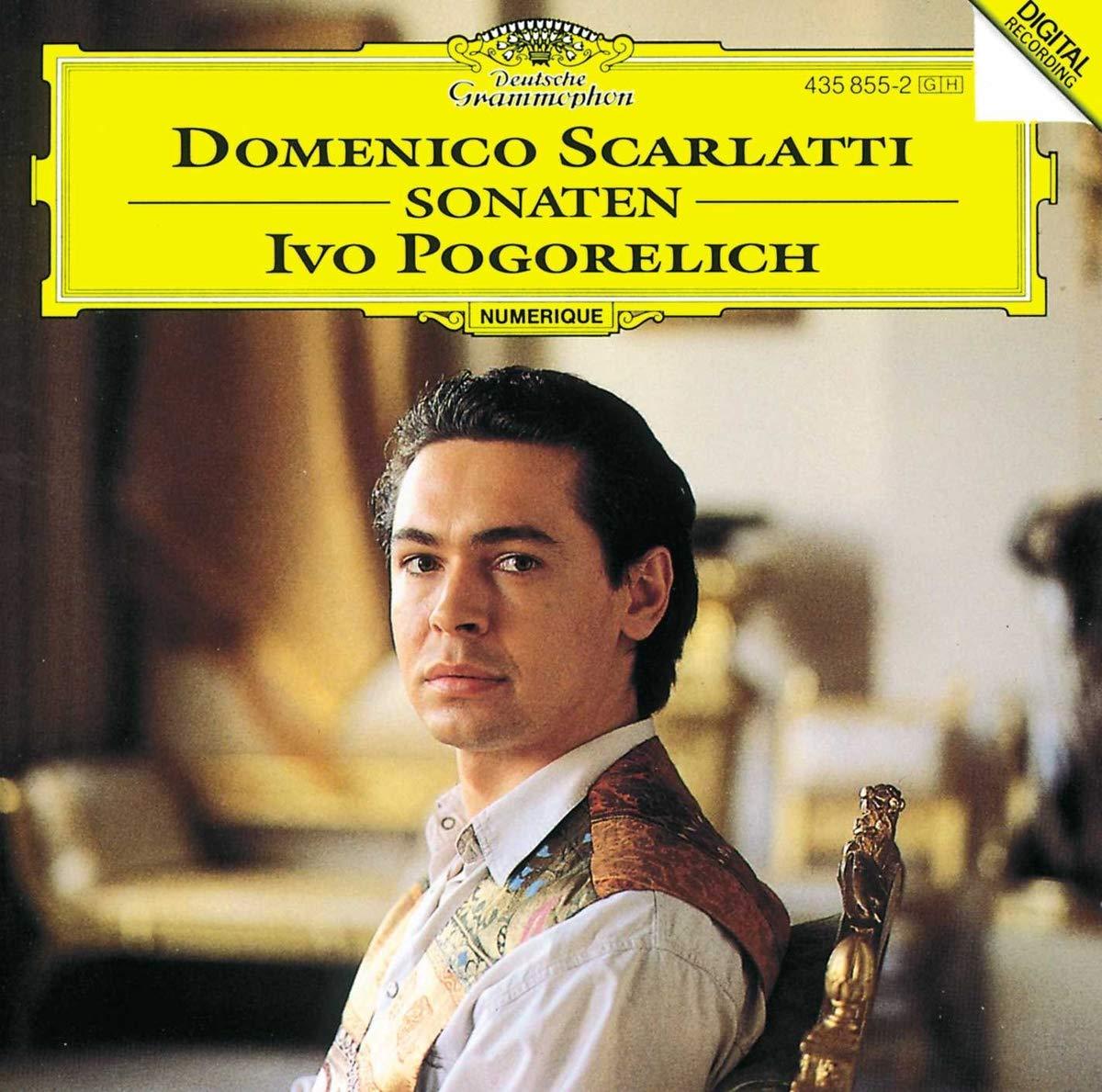 Ivo Pogorelich Piano Scarlatti Giuseppe Domenico Composer Scarlatti D Sonatas Amazon Com Music