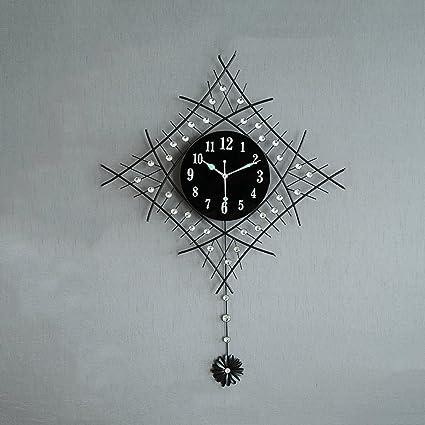 Relojes Modernos y Minimalistas Relojes de Pared Relojes de la Sala de Estar Creativos Gráficos de