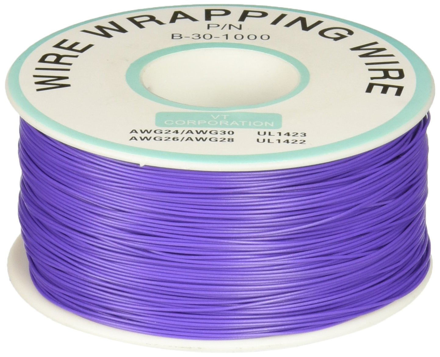 Purple Pvc Coated Tin Plated Copper Wire Wrapping 30awg Cable Double Side Tinplating 254mm Diy Prototype Pcb Printed Circuit Board 305m Solid