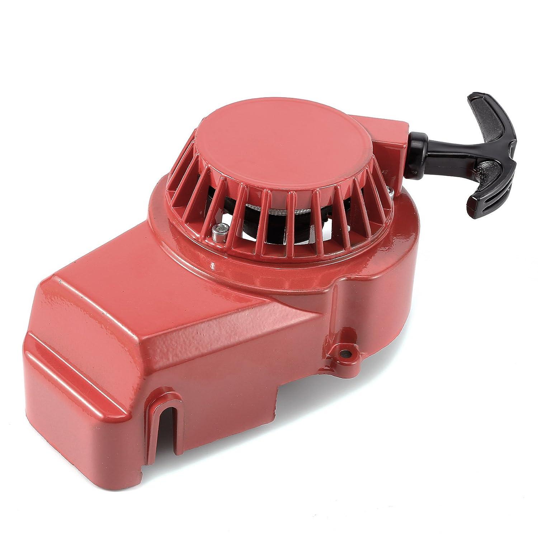 Pullstart Alloy Red 49cc Air Cooled Mini Moto Hamimelon