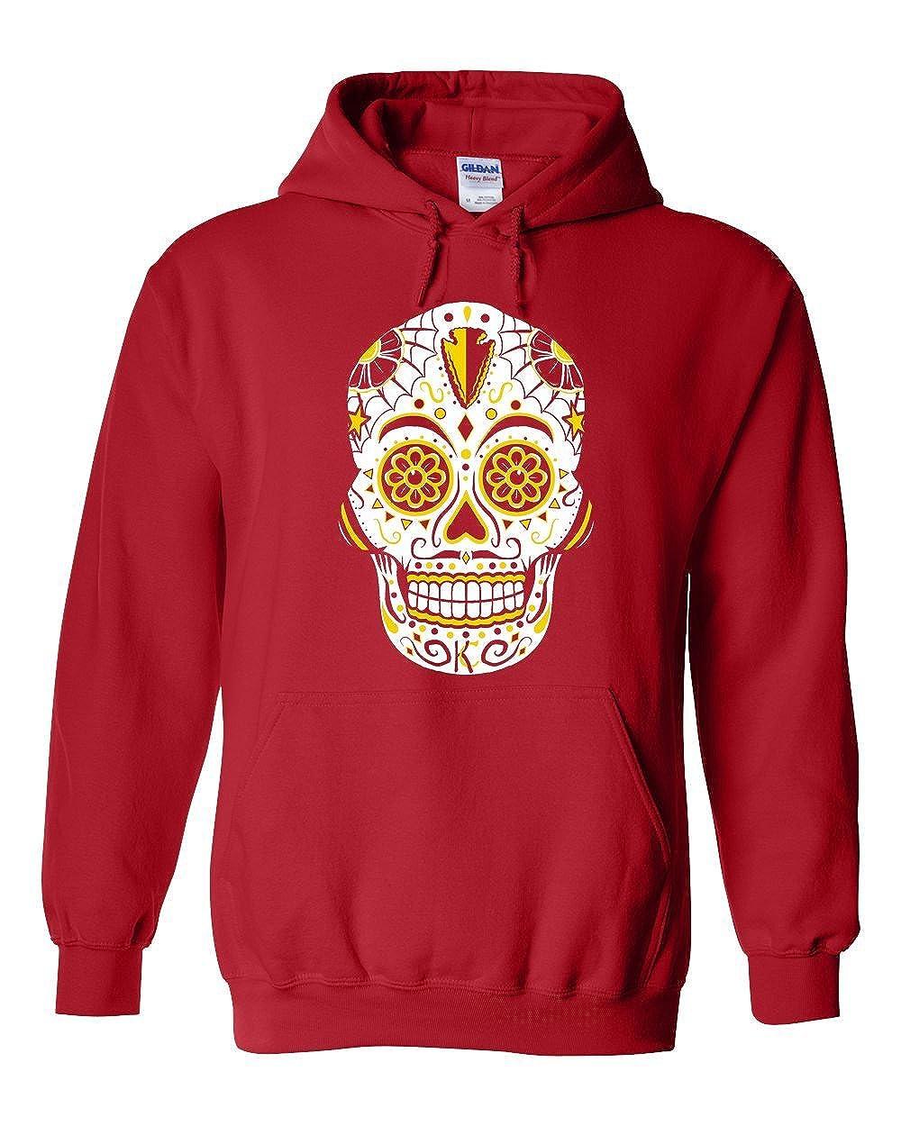 Americas Finest Apparel Kansas City Sugar Skull Hoodie