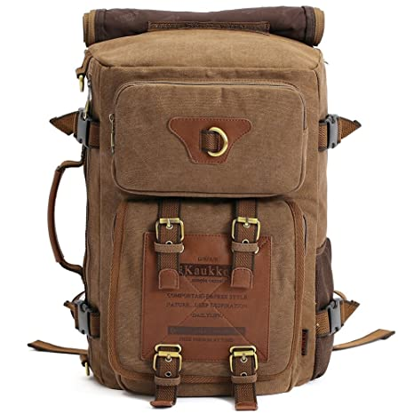 2ec562a9b7e2 Amazon.com   KAUKKO Outdoor Travel Men Backpack
