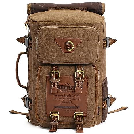 b1b4d49cef4c Amazon.com   KAUKKO Outdoor Travel Men Backpack
