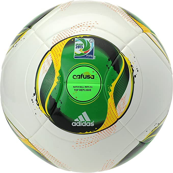 a4765ff1e07b6 Buy Adidas Confederation Cup Cafusa Top Replique Soccer Ball (5) Online at  Low Prices in India - Amazon.in