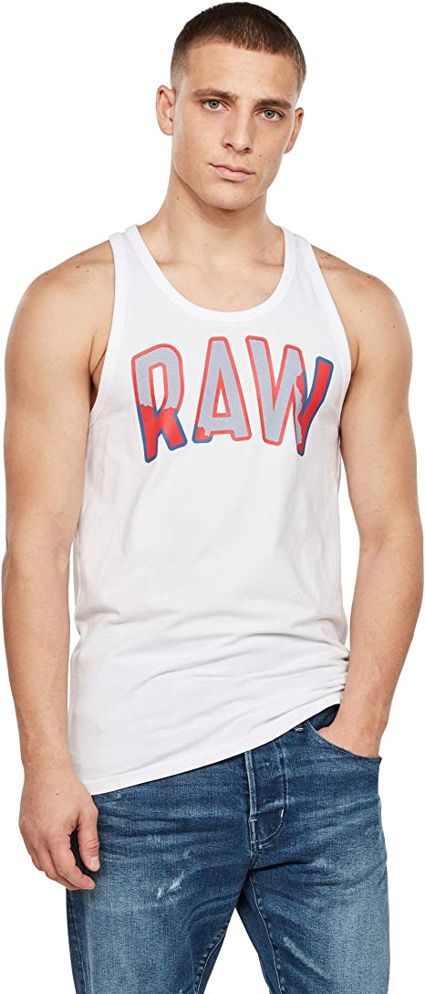 G-STAR RAW Multi Layer Raw Graphic Slim Camiseta para Hombre