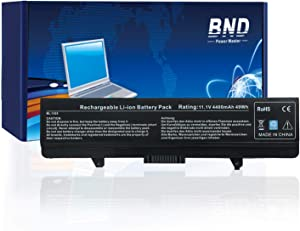 BND X284G Battery Compatible with Dell Inspiron 1545 1525 1526 PP29L PP41L Series Vostro 500, fits P/N GW240 RN873 GP952 M911G M911 RU586 C601H 312-0844-[6-Cell /49Wh]