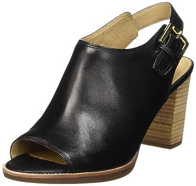 939d95fde Geox New Callie B, Women's Heels Sandals, Black (Black), 7 UK (40 EU ...