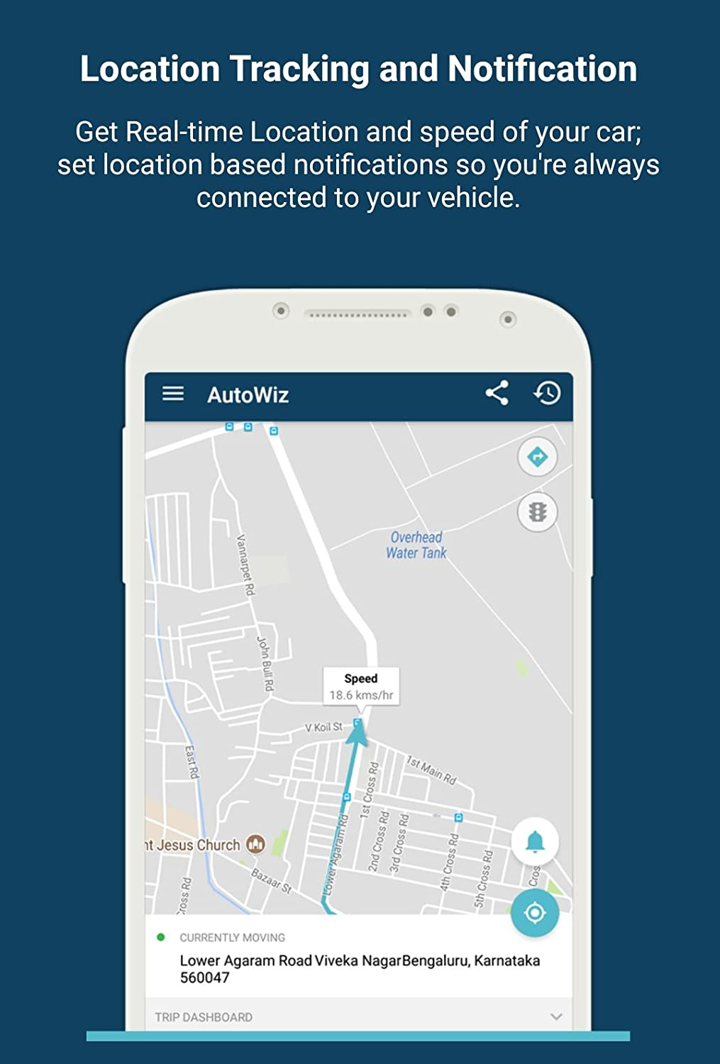 Autowiz Obd Gps Car Tracker Plug N Play Live Vehicle Tracking Nissan Obd2 To Obd1 Wiring Diagram Free Picture Health And Mileage Monitoring Motorbike
