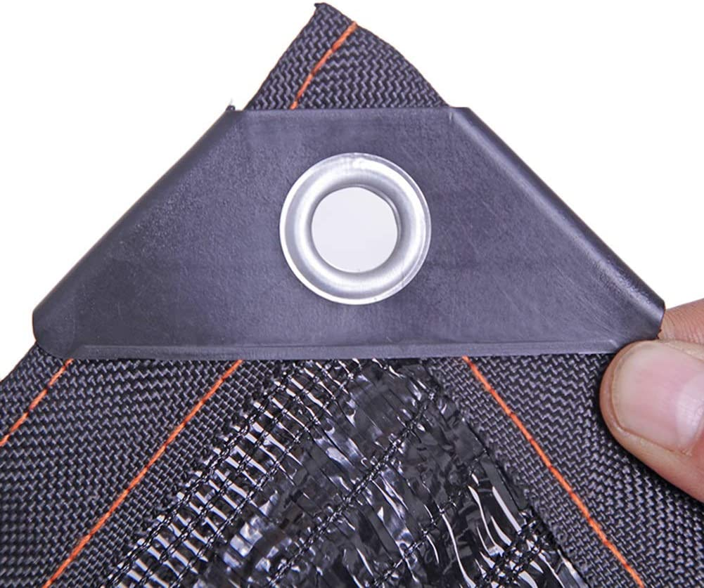 Sombra Solar Malla Cubierta De Dosel para Pérgola De Patio Tela Negra con Malla De 95% De Sombra, Tela Impermeable De HDPE con Protección Solar con Ojales (Size : 8m×20m): Amazon.es: Hogar