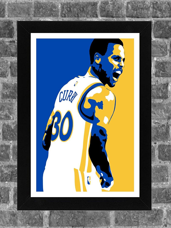 Amazon.com : Golden State Warriors Stephen Curry Portrait Sports ...