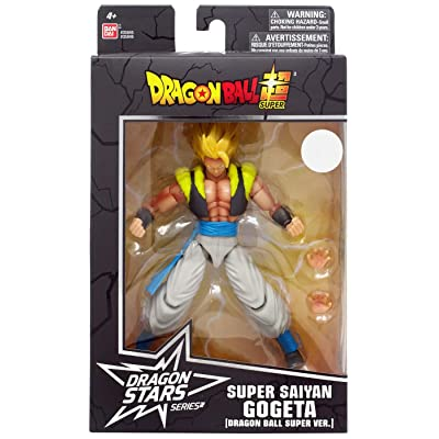 Dragon Ball BanDai Dragon Stars Super Super Saiyan Gogeta Walgreens Exclusive: Toys & Games