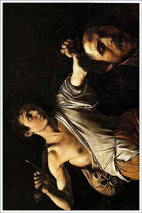 Caravaggio CANVAS PRINT David with the Head of Goliath