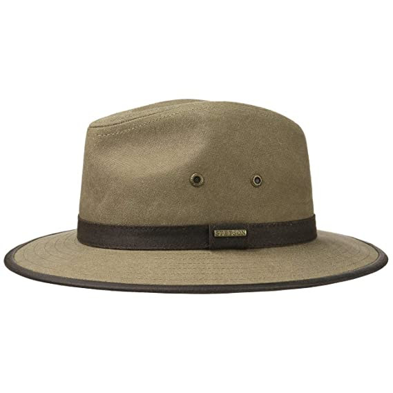 d2133fd8661 Stetson Canvas Traveller Cotton Hat Women Men