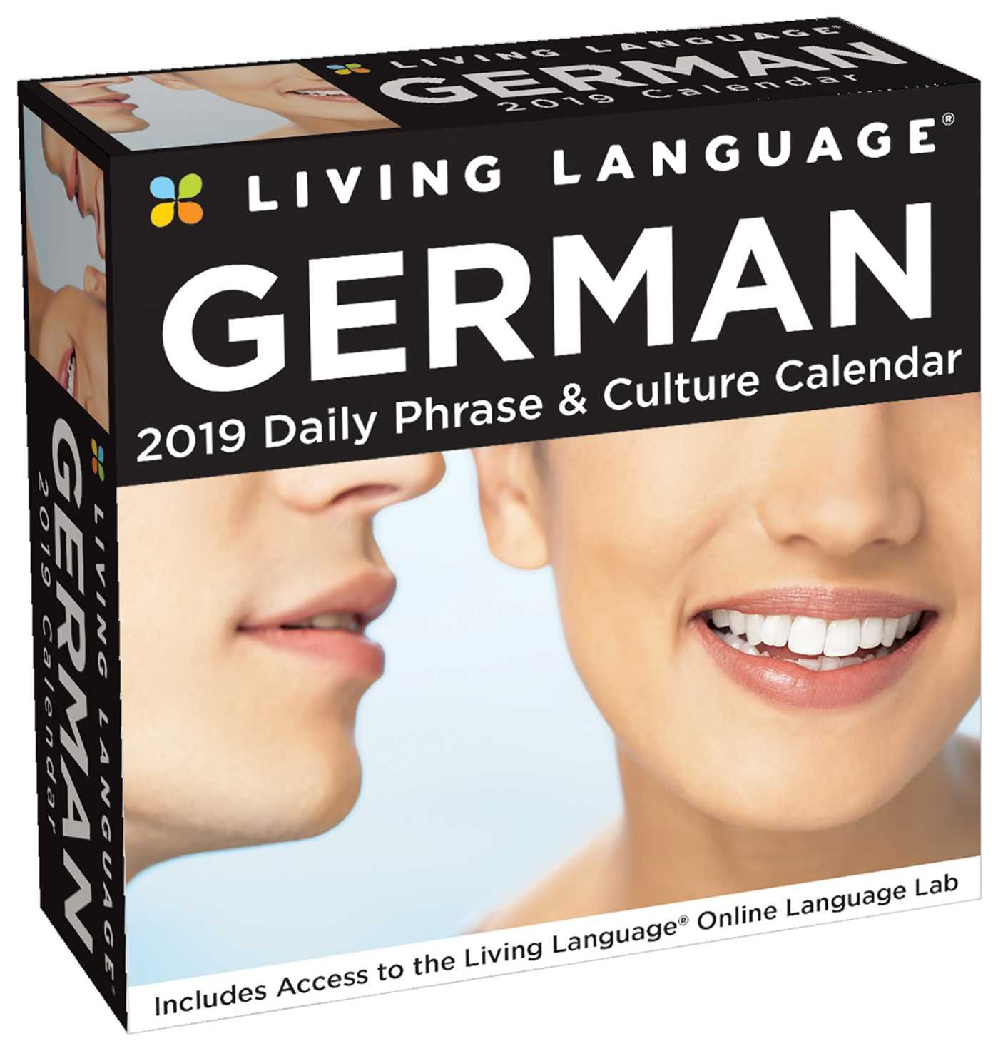 Living Language  German 2019 Day To Day Calendar