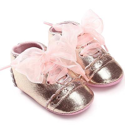 ❤️LILICAT Bébé fille garçons mode bandage enfant en bas âge en cuir premiers marcheurs Kid chaussures à lacets ruban bébé chaussures pour tout-petits