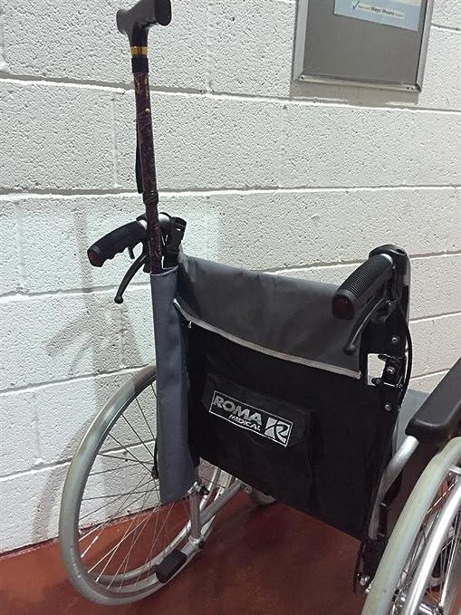 Para sillas de ruedas y corriente impermeable de un solo para muletas y de senderismo de