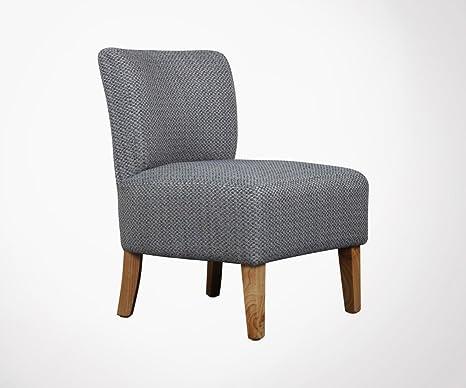 Sedia Imbottita Design : Meubles & design sedia imbottita poltrona tweed blu sully: amazon.it