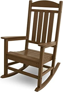 product image for POLYWOOD R100TE Presidential Rocking Chair, Teak