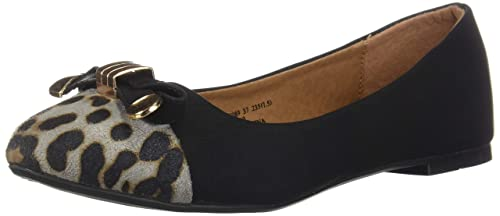 168550ab66db Alexis Leroy New Arrival Women Fashion Sexy Leopard Toe Knots Ballet Flats  Shoes 38 M EU