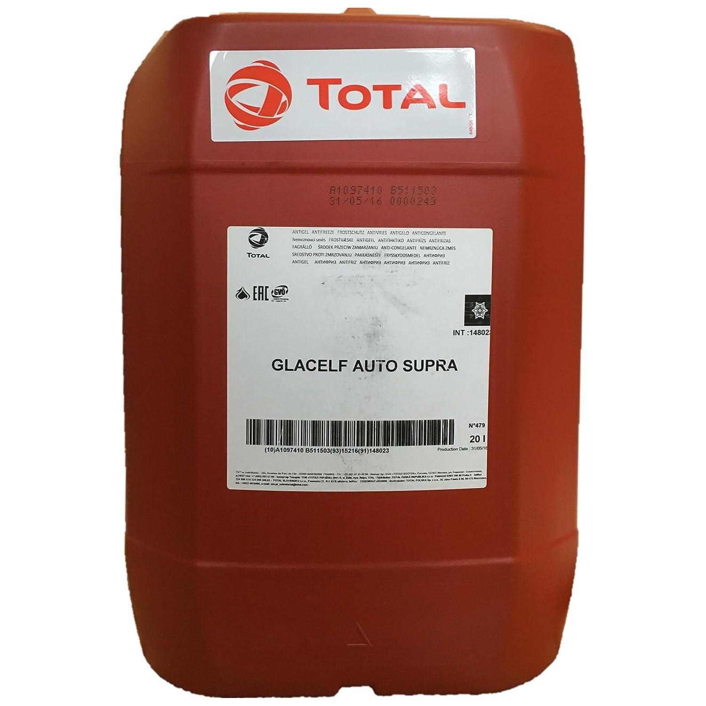20 Liter TOTAL GLACELF AUTO SUPRA   Super-Langzeit-Kü hlerschutzmittel
