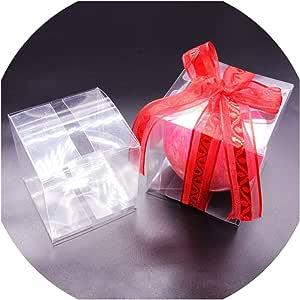50 cajas cuadradas transparentes para dulces, recuerdos, PVC ...