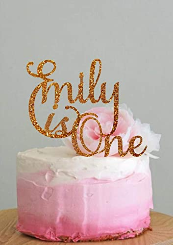 Personalized Cake Topper Name Birthday Custom First Decorations