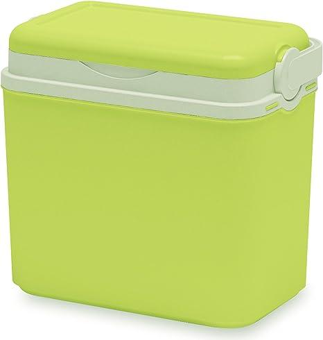 Nevera portátil 10 L 30 x 19 x 28 cm, 6 x 0,5 Uni Colores, limas Verde • Nevera para Picnic Camping Cesta refrigerante, Frío Box Aislante getr änkebox 10L: Amazon.es: Deportes y aire libre