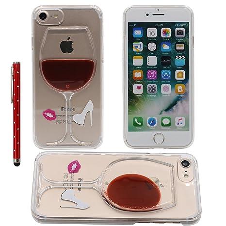 Desconocido Líquido Agua Funda para iPhone 7, Transparente ...