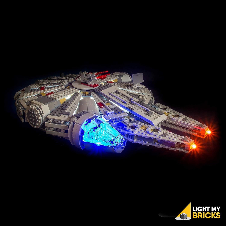 Light My Bricks 'Star Wars Millennium Falcon' LED Lighting Kit for LEGO Set 75105