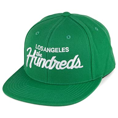 The Hundreds Forever Team Snapback Cap - Green Adjustable  Amazon.co ... e984e7ab6590