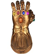 XXF Thanos Infinity Gauntlet Glove for Adult with LED Light Glove Avengers 4 Movie Toy (Kids)