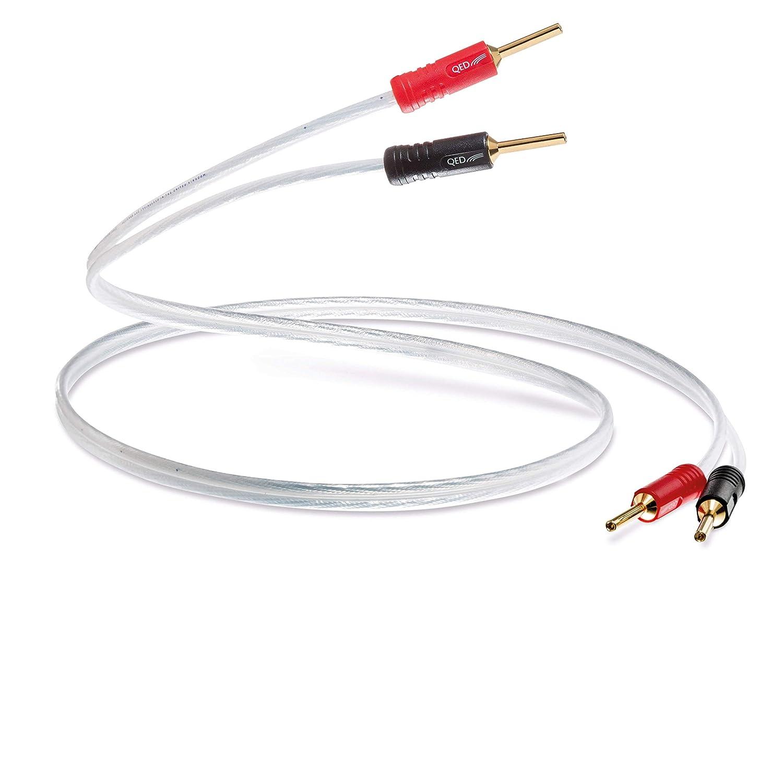 【ネット限定】 QED XT25 スピーカーケーブル QED 2M XT25、6.5フィート B07FZK7J99, 本棚専門店:8aeae22d --- specialcharacter.co