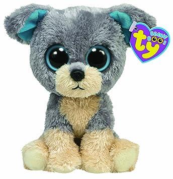 Ty Beanie Boos 36016 Scraps - Perro de peluche, 20 cm [importado de Alemania