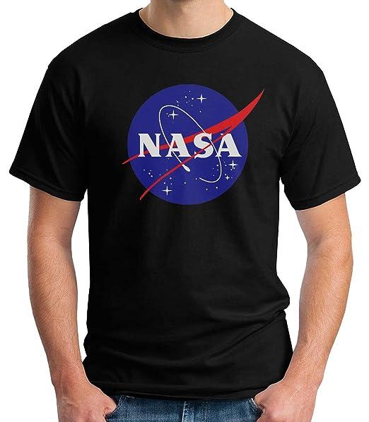 35mm - Camiseta Hombre Nasa Logo Retro Old School ULlGVPd