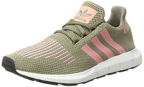 95326713ae424 adidas Originals Women s Swift Run W Tracar Trapnk Crywht Sneakers - 6 UK